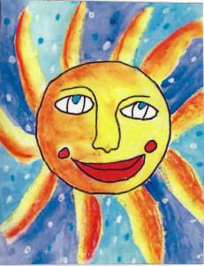 Sun by Taylor (age 8)