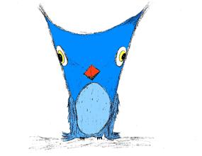 Blu the Owl by Lafayette Wattles
