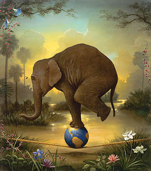 """Elephant"" by Kevin Sloan"