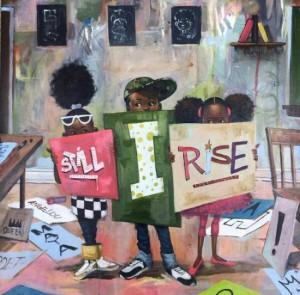 """Still I Rise"" by Frank Morrison"