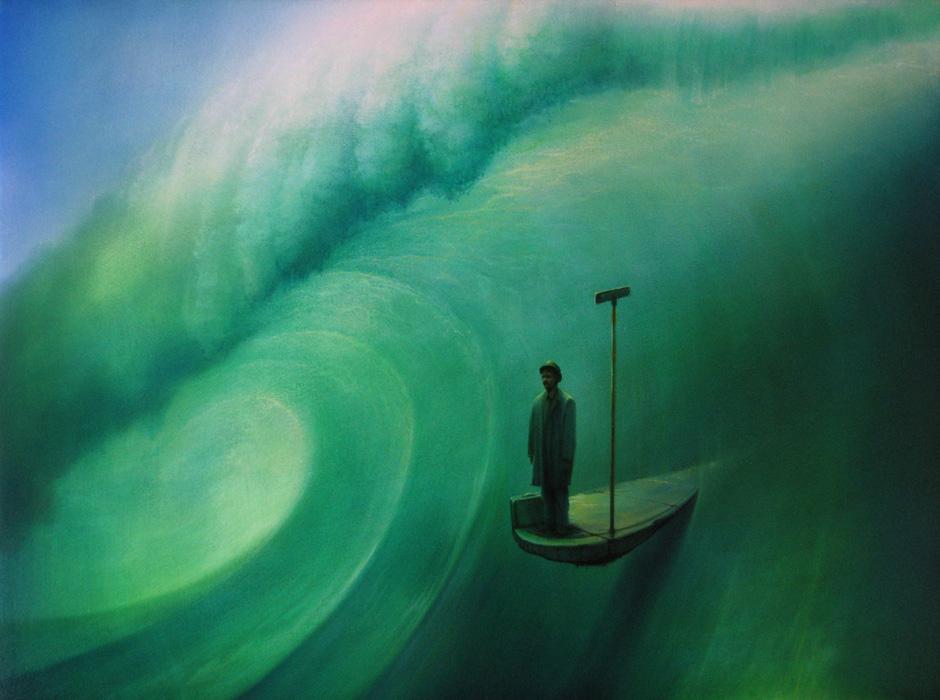 """Man on the Street"" by Peter van Straten"