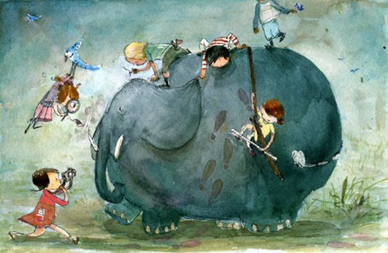 """If They Had an Elephant"" by Catia Chien"