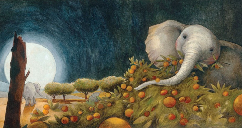 Elephant by Gabrielle Grimard