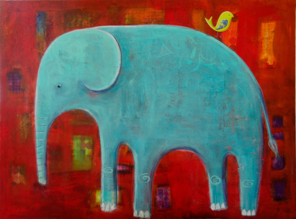 """Elephant"" by Vanessa Roeder"