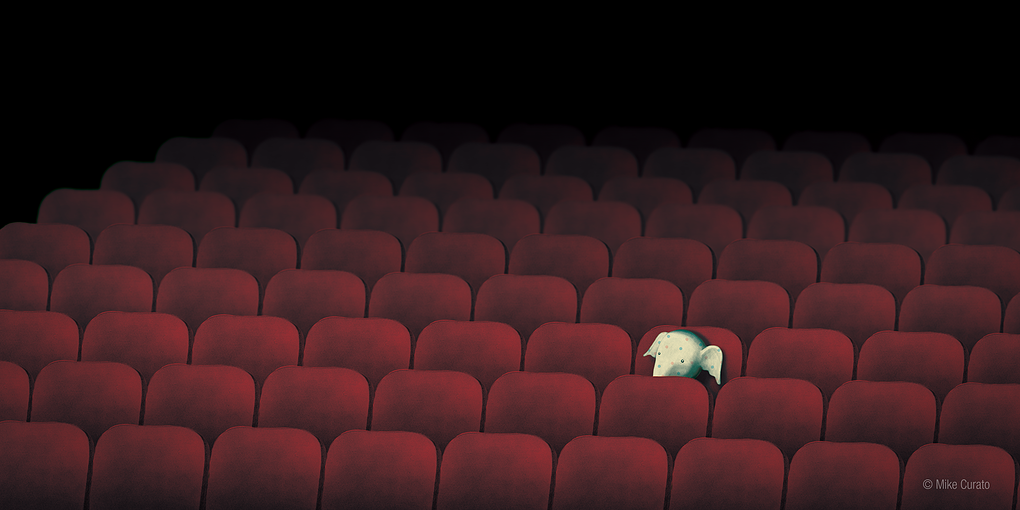 """Little Elliot in Theater"" by Mike Curato"