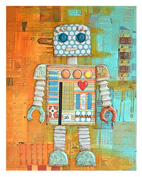 Augie Bot by Nessa Roeder