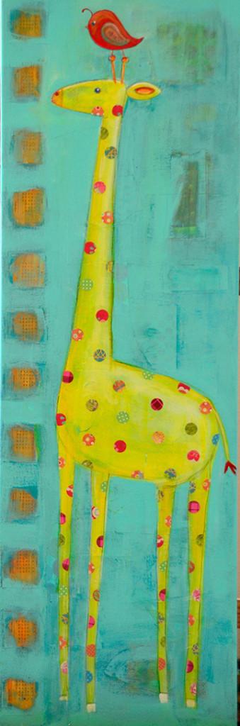 Giraffe by Nessa Roeder