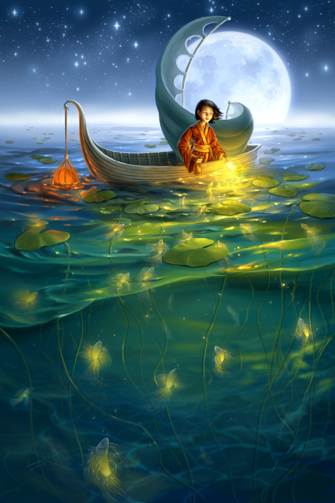 """""""Golden Fish"""" by Laura Diehl"""