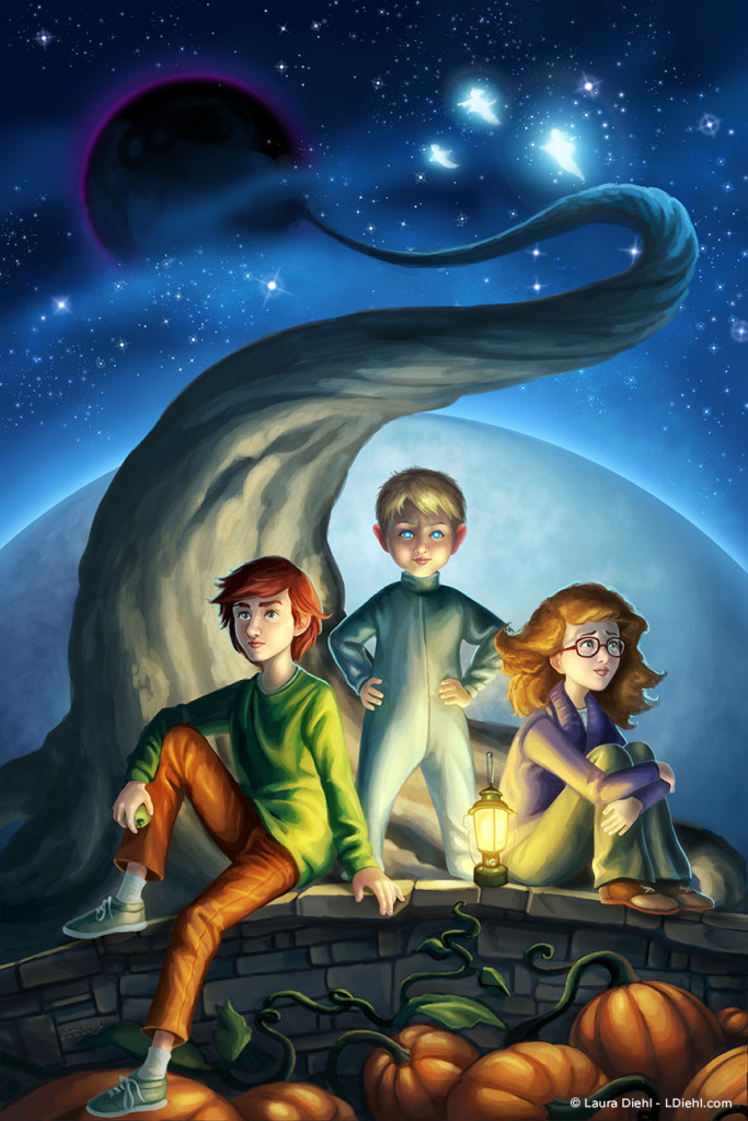 """A Wrinkle in Time Cover"" by Laura Diehl"