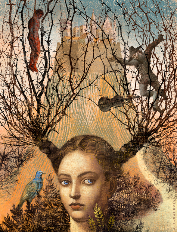 """Among Thorns"" by Anna + Elena Balbusso"