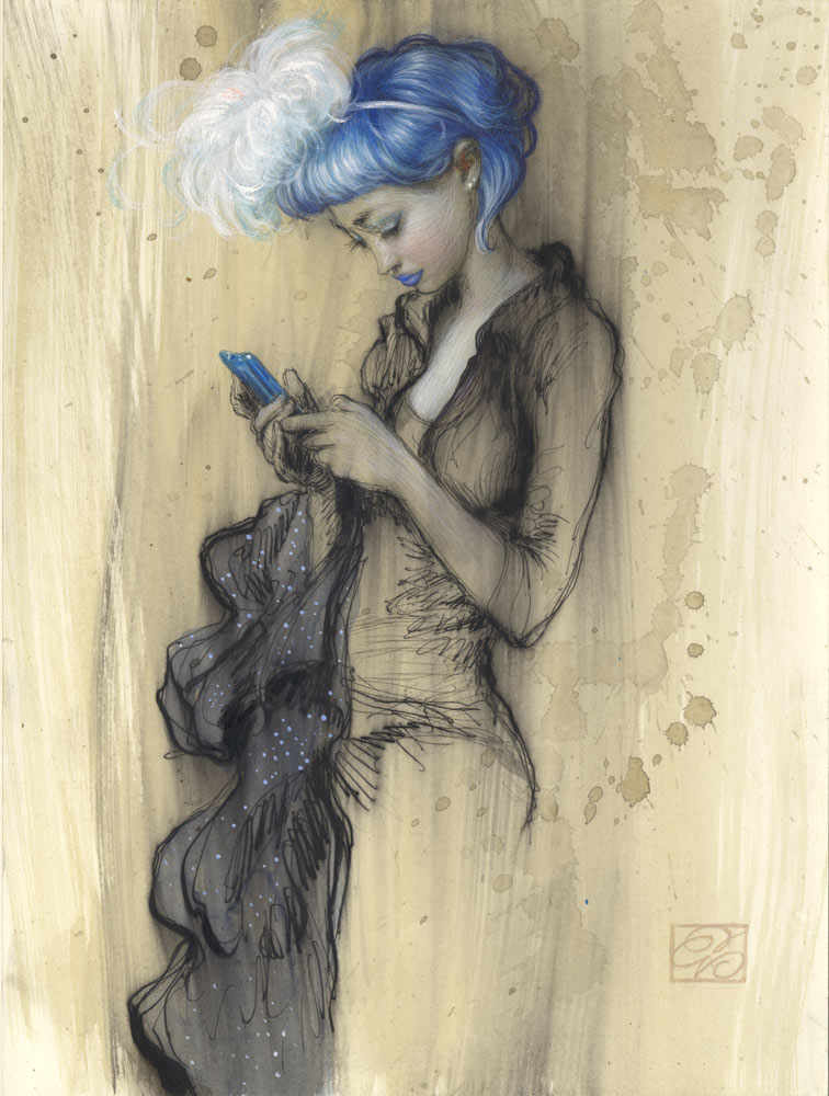 """""""Fatima Study"""" by Dorian Vallejo"""