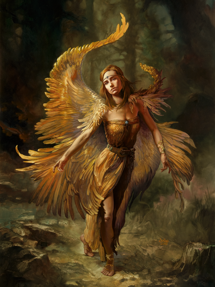 """""""Firebird"""" by Julie Bell"""