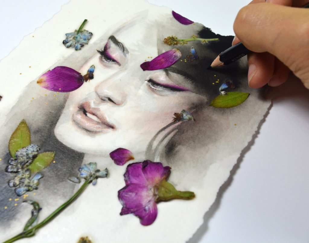 Painting by Tran Nguyen