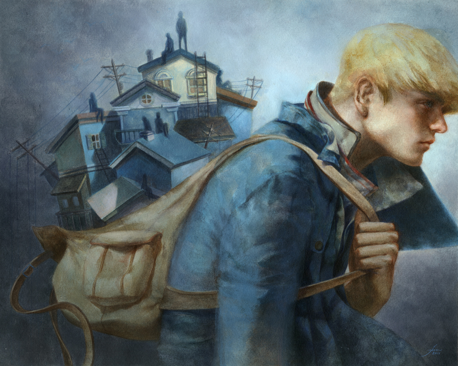 """When The World Isn't Looking"" by Tran Nguyen"