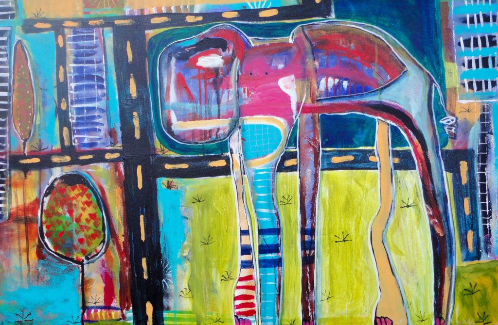 """City Elephant"" by Jenn Ashton"