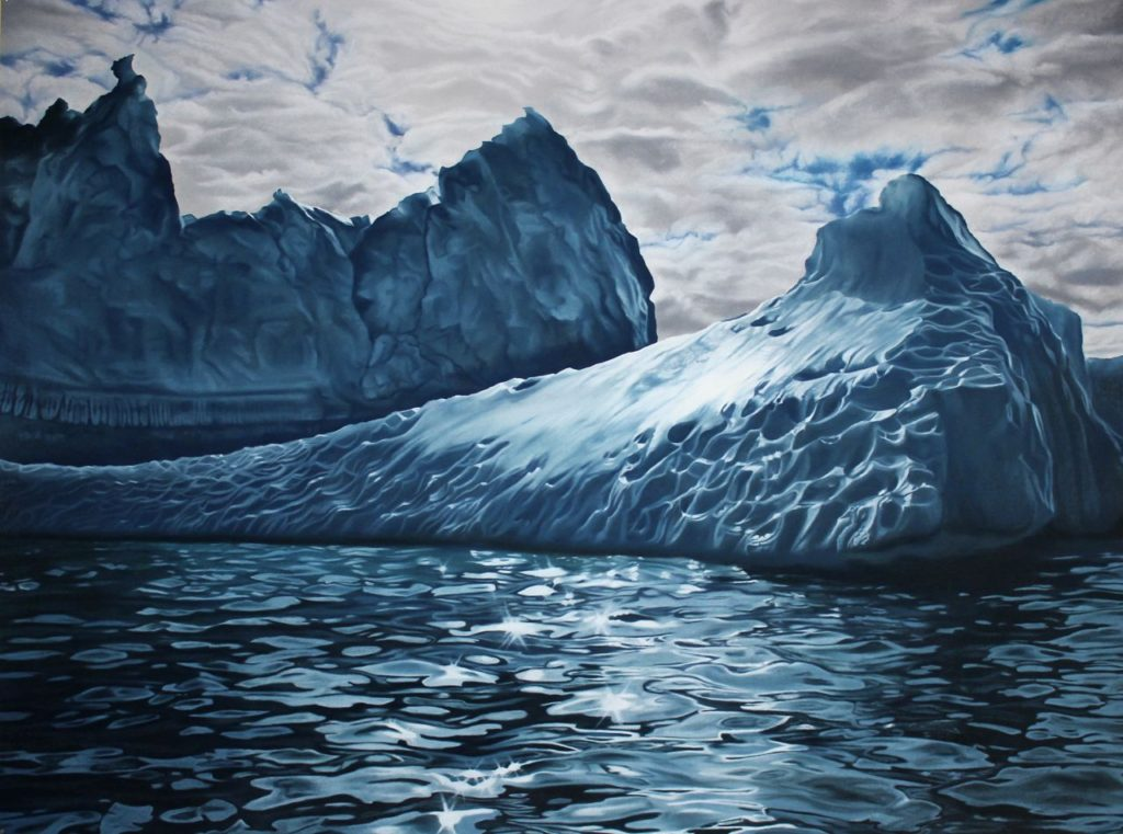 Greenland no.52 by Zaria Forman