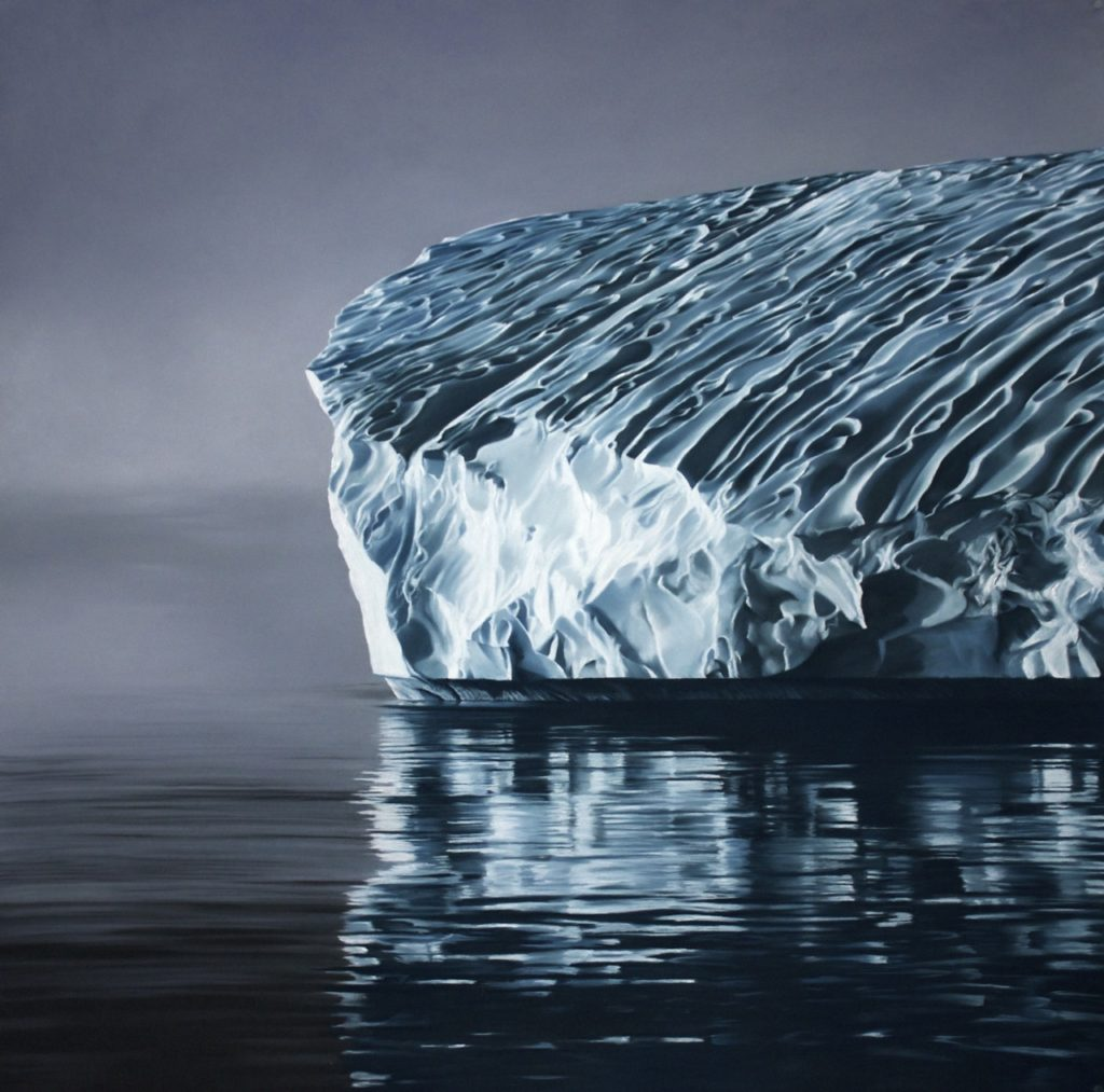 Greenland no.70 by Zaria Forman