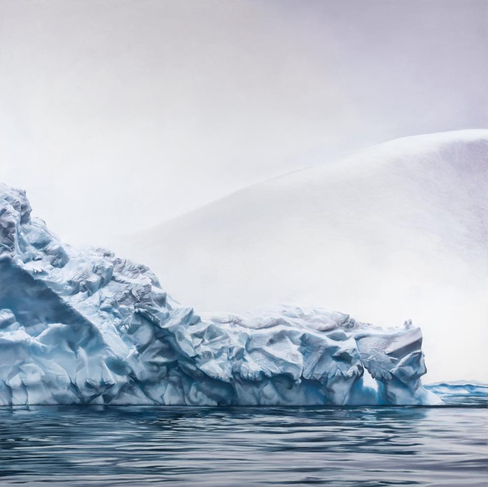 Whale Bay, Antarctica no.3 by Zaria Forman