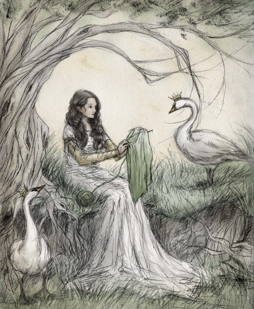 """Wild Swans"" by Erin Beachy"