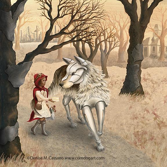 """""""She Wasn't Afraid of Him"""" by Denise M. Cassano"""
