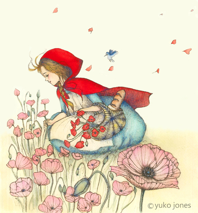 """Little Red Riding Hood"" by Yuko Kato-Jones"
