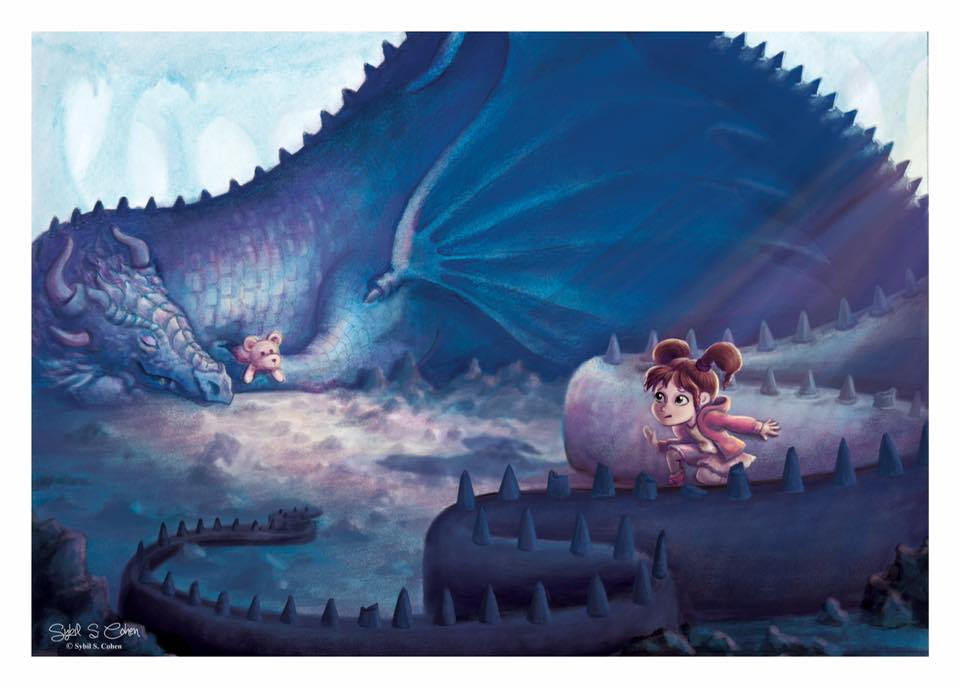 """Don't Wake a Sleeping Dragon"" by Sybil Cohen"