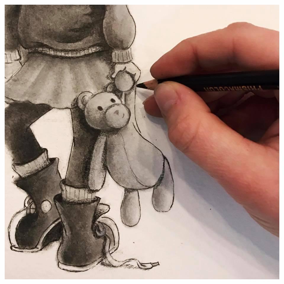 Sketch by Sybil Cohen