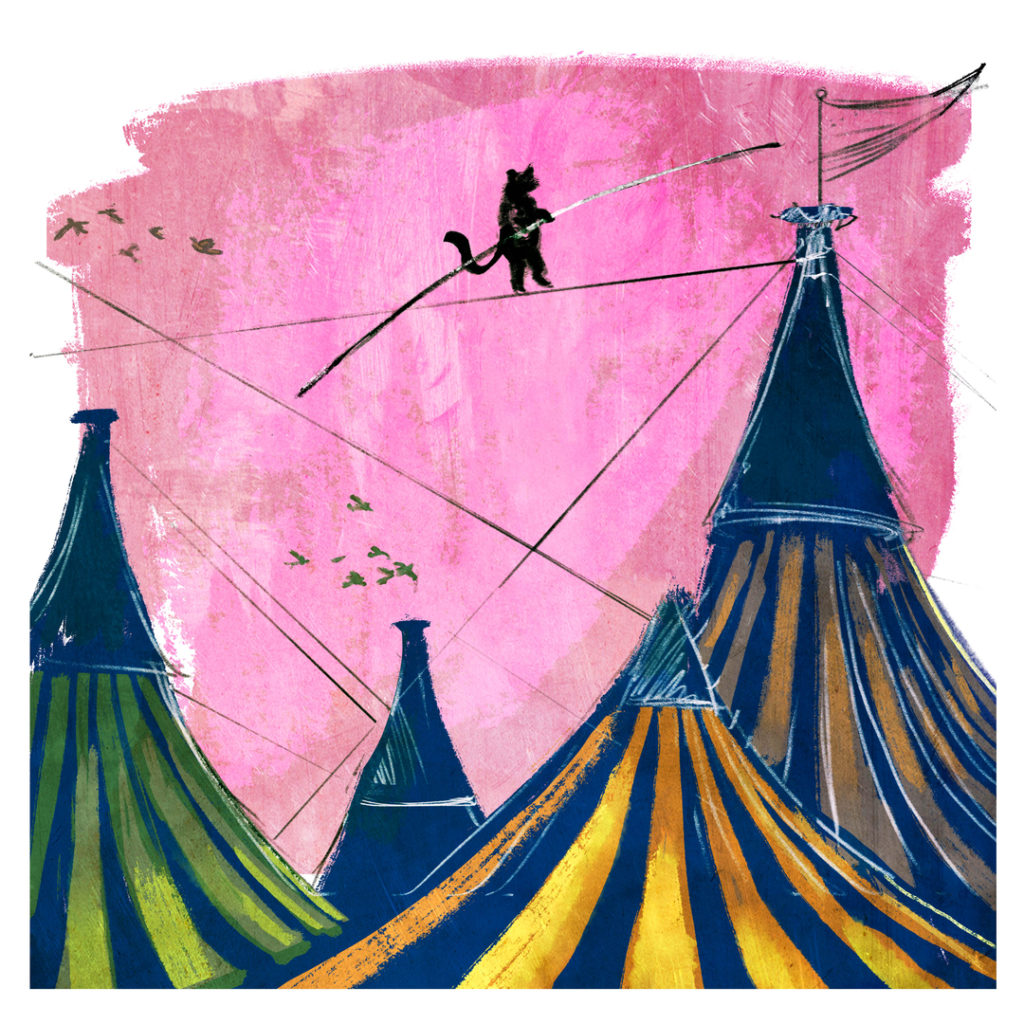Tightrope Walker by Rebecca Jordan Glum