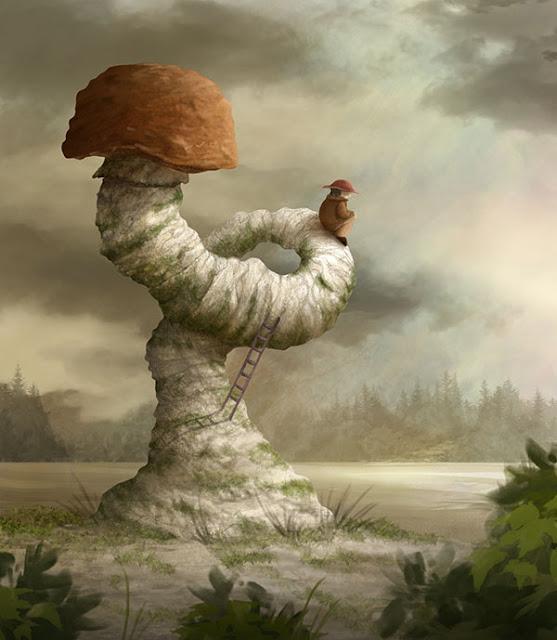 Mushroom by Alexander Skachkov