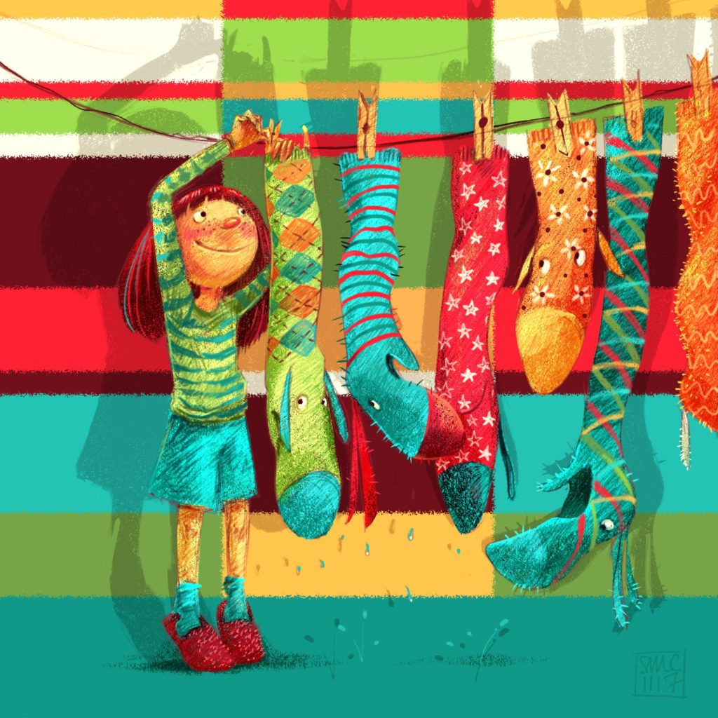 Sock Monsters by Simona Ceccarelli