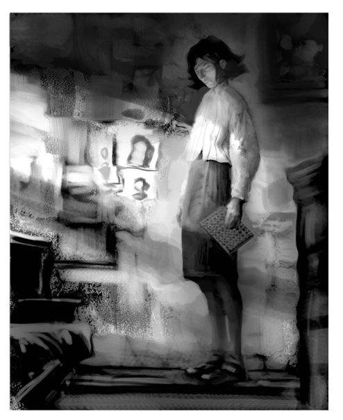 Anne Frank Concept Art by Jon Foster