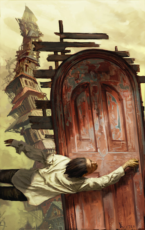 Conrad's Fate Book Cover by Jon Foster
