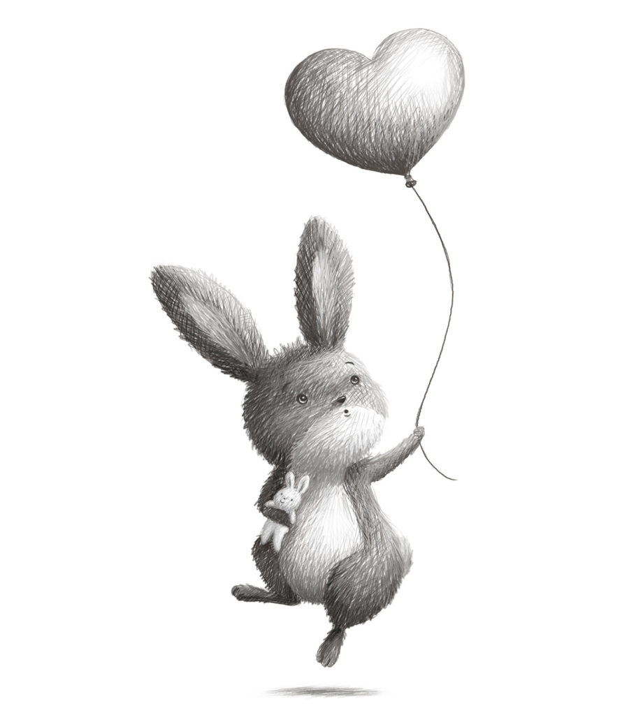 """Flying Rabbit"" by Ramona Kaulitzki"