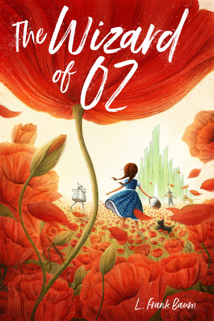 """Wizard of Oz"" Book Cover by Ramona Kaulitzki"